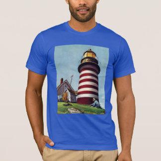 Camiseta Depositário de farol por Stevan Dohanos