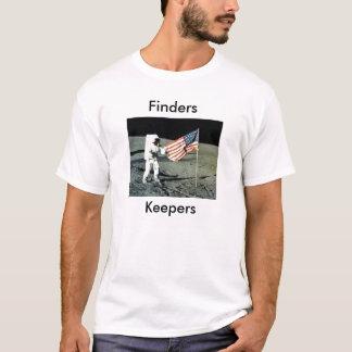 Camiseta Depositários americanos dos inventores da lua