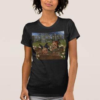 Camiseta Depositários do guerreiro de Avalon da fé