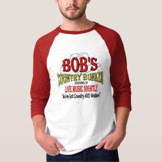 Camiseta Depósito do país de Bob - honre um clássico do