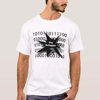Camiseta depurador de programas do geek
