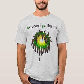 Camiseta Derramar de óleo de BP - além da paciência