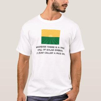 Camiseta Derramar solar