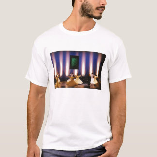 Camiseta Dervish girando do sufi de Sama