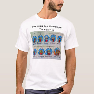 Camiseta DES Nibelungen do anel de Der: O Valkyries