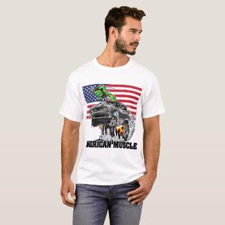 Camiseta Desafiador americano do músculo