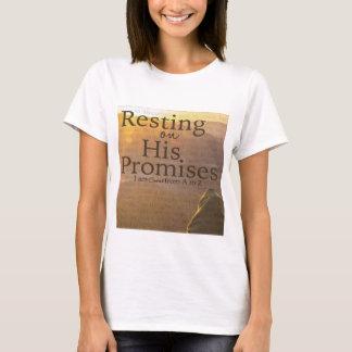 Camiseta Descanso em seu t-shirt das promessas