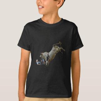 Camiseta Descarga da equitação de Bull