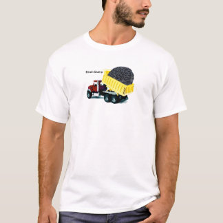 Camiseta Descarga de cérebro