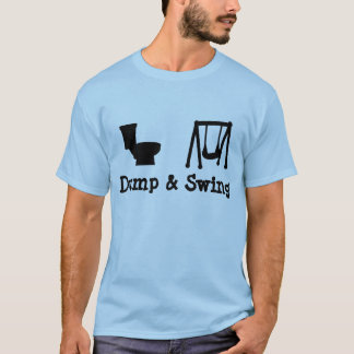 Camiseta Descarga e balanço - Frisbee final