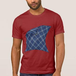 Camiseta Descascando a xadrez azul