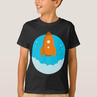 Camiseta Descolagem do navio de Rocket