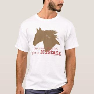 Camiseta Descubra animais selvagens!