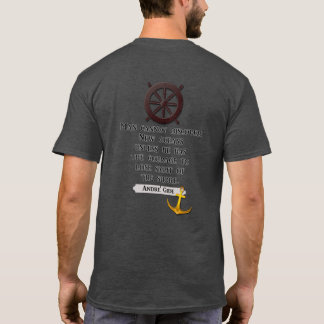 Camiseta Descubra oceanos novos -- T-shirt