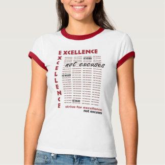 Camiseta desculpas