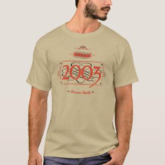 Camiseta Desde 2003 (Red&Black)