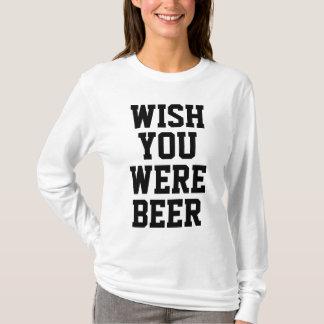 Camiseta Desejo você era cerveja
