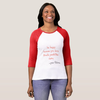 Camiseta Desejos do feliz aniversario, ideias do presente