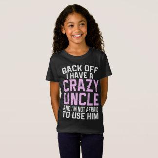 Camiseta Desembarace do eu têm um tio louco Presente