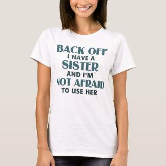 Camiseta Desembarace do eu têm uma irmã (azul)