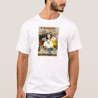 Camiseta Desempenho do vaudeville de Sandow Trocadero do