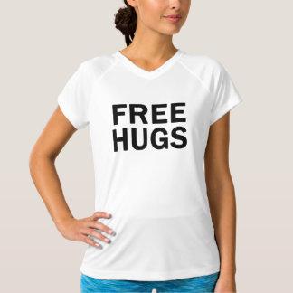 Camiseta Desempenho livre V dos abraços - pescoço -