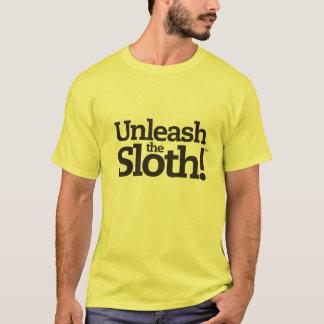 Camiseta Desencadeie a preguiça! T-shirt