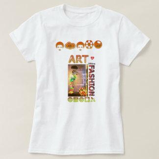 Camiseta Desenhista na moda T/Shirt