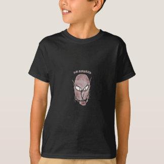 Camiseta Desenho assustador do vampiro