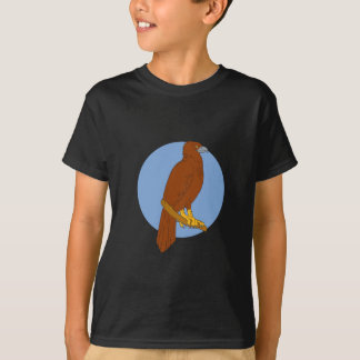 Camiseta Desenho Cunha-atado australiano da vara de Eagle