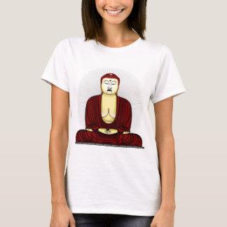 Camiseta Desenho de Buddha