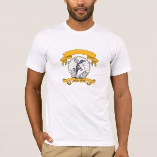 Camiseta Desenho de Dreamcatcher do pintinho da pá do