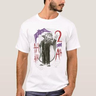 Camiseta Desenho de esboço de von Contagem B&W da contagem