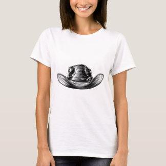 Camiseta Desenho do chapéu de vaqueiro