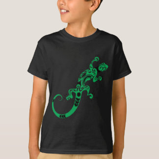 Camiseta Desenho do lagarto verde