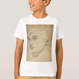 Camiseta desenho do Renascimento-estilo de um homem novo
