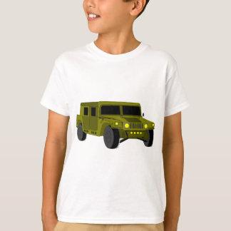 Camiseta Desenho dos desenhos animados do caminhão de