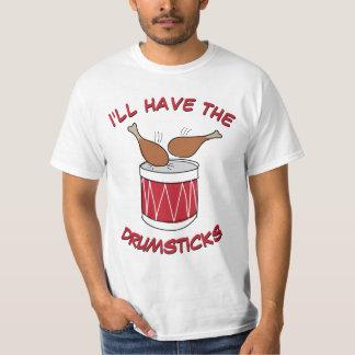 Camiseta Desenho engraçado e bonito da acção de graças dos