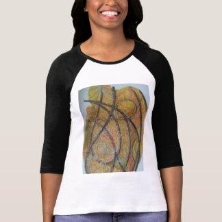camiseta desenho mandala