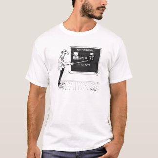 Camiseta Desenhos animados 5850 da matemática
