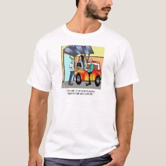 Camiseta Desenhos animados 8532 do reparo do carro