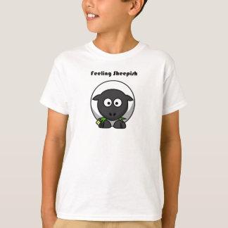 Camiseta Desenhos animados acanhados de sentimento do