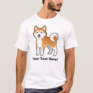 Camiseta Desenhos animados Akita Inu/Shiba Inu