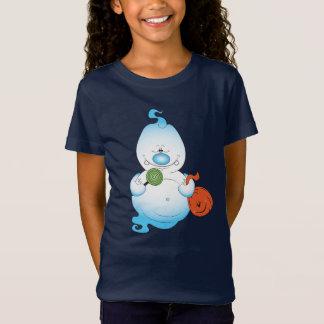 Camiseta Desenhos animados bonitos do fantasma do Dia das