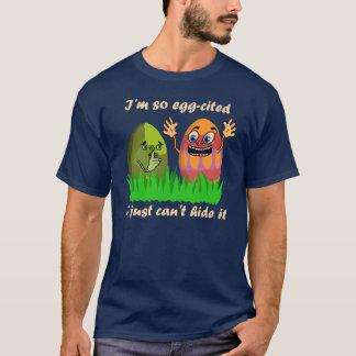 Camiseta Desenhos animados bonitos engraçados dos ovos da