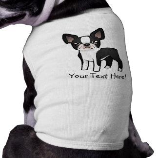 Camiseta Desenhos animados Boston Terrier