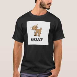 Camiseta desenhos animados da arte da cabra
