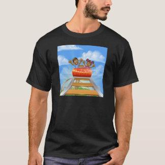 Camiseta Desenhos animados da montanha russa