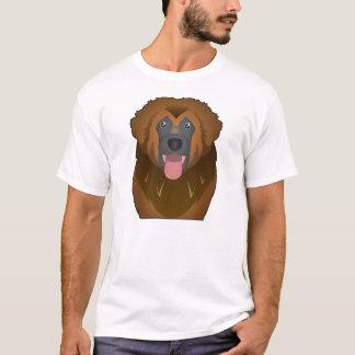 Camiseta Desenhos animados de Leonberger