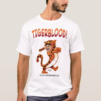 Camiseta Desenhos animados de Tigerblood